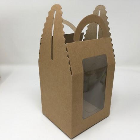 Caja de regalo con asa